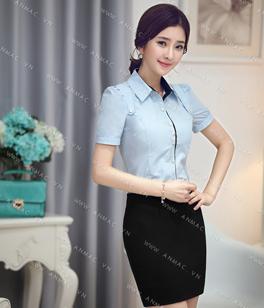 Đồng phục áo sơ mi nữ công sở 54