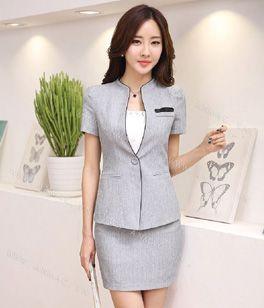 Đồng phục áo vest nữ công sở 01