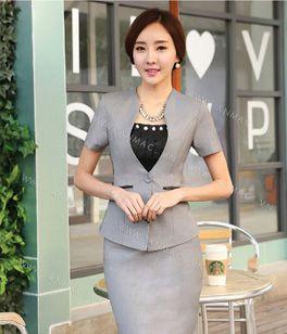 Đồng phục áo vest nữ công sở 02