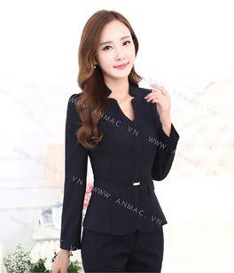 Đồng phục áo vest nữ công sở 04