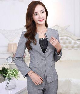Đồng phục áo vest nữ công sở 05