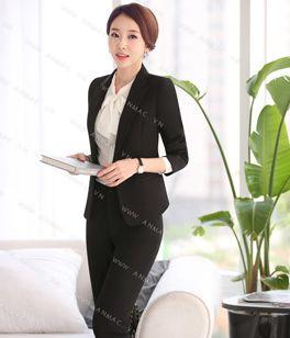 Đồng phục áo vest nữ công sở 57