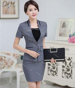 Đồng phục áo vest nữ công sở 61