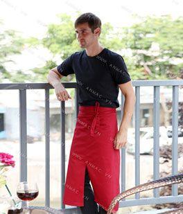Đồng phục nhân viên áo phông – tạp dề 1APTD61