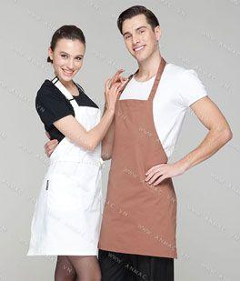 Đồng phục nhân viên áo phông – tạp dề 63