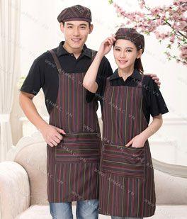Đồng phục nhân viên áo phông – tạp dề 1APTD66