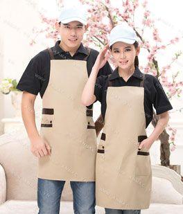 Đồng phục nhân viên áo phông – tạp dề 71