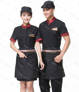 Đồng phục nhân viên áo phông – tạp dề 72