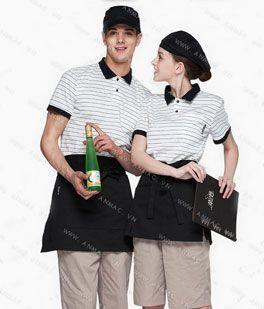 Đồng phục nhân viên áo phông – tạp dề 1APTD51