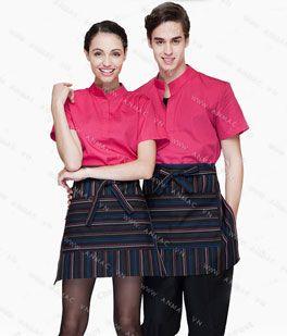 Đồng phục nhân viên áo phông – tạp dề 1APTD52