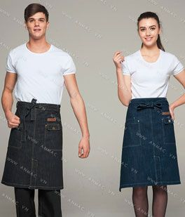 Đồng phục nhân viên áo phông – tạp dề 55