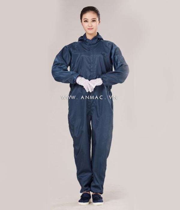 Đồng phục công nhân phòng sạch 10