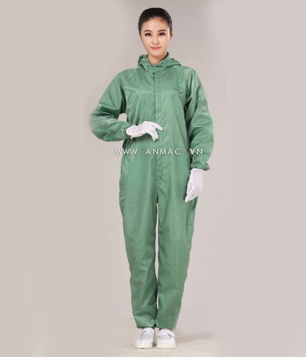 Đồng phục công nhân phòng sạch 11