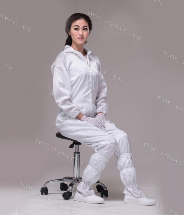 Đồng phục công nhân phòng sạch 13