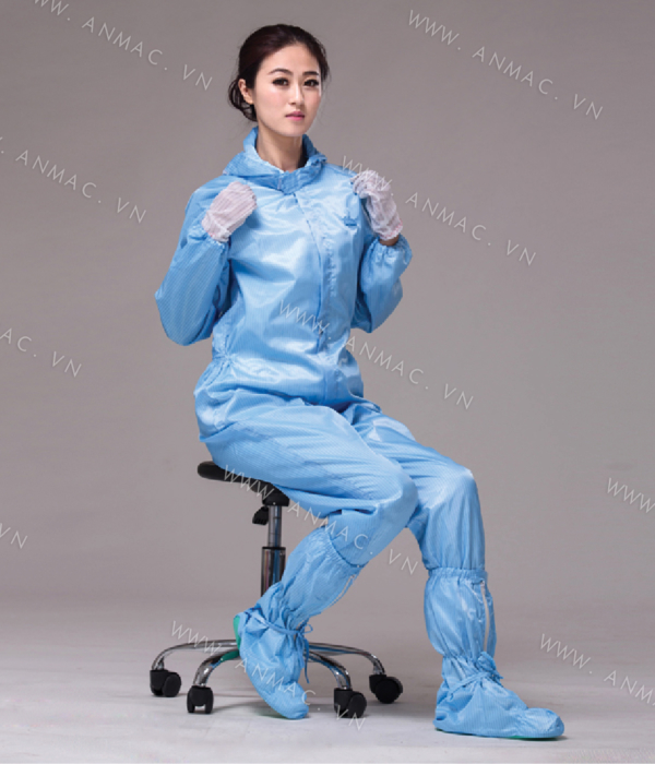 Đồng phục công nhân phòng sạch 14