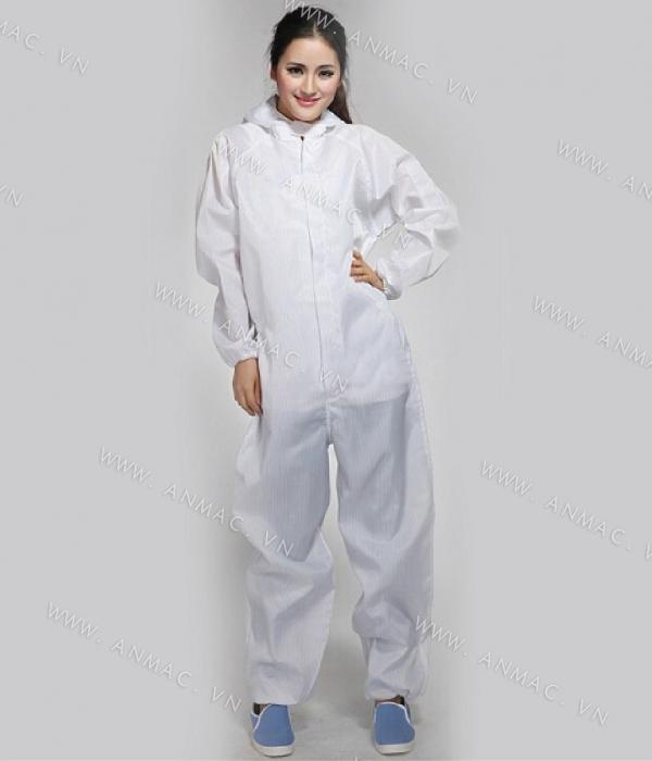 Đồng phục công nhân phòng sạch 16