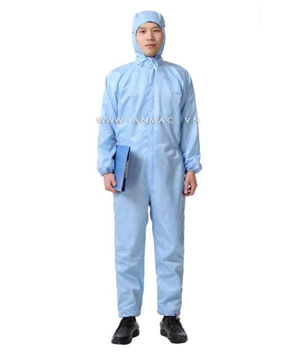Đồng phục công nhân phòng sạch 21