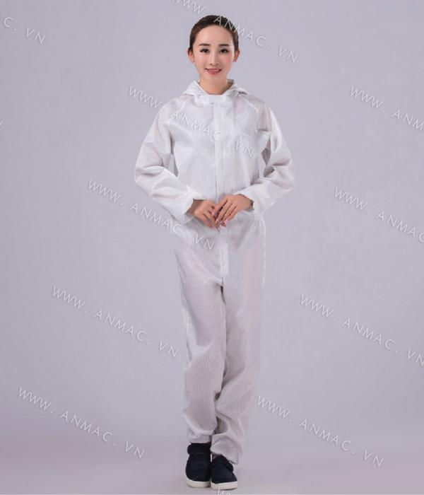 Đồng phục công nhân phòng sạch 23