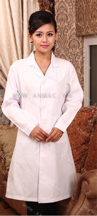 Đồng phục áo bác sĩ blouse 1BS10