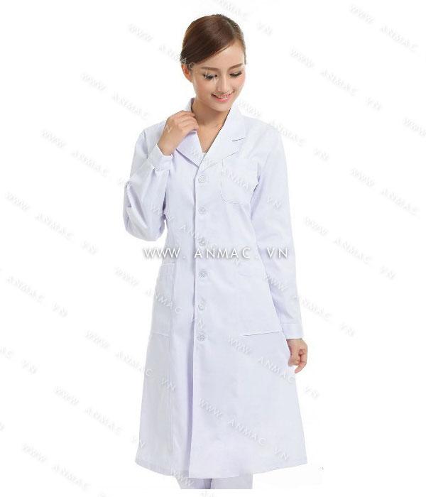 Đồng phục áo bác sĩ blouse 1BS01
