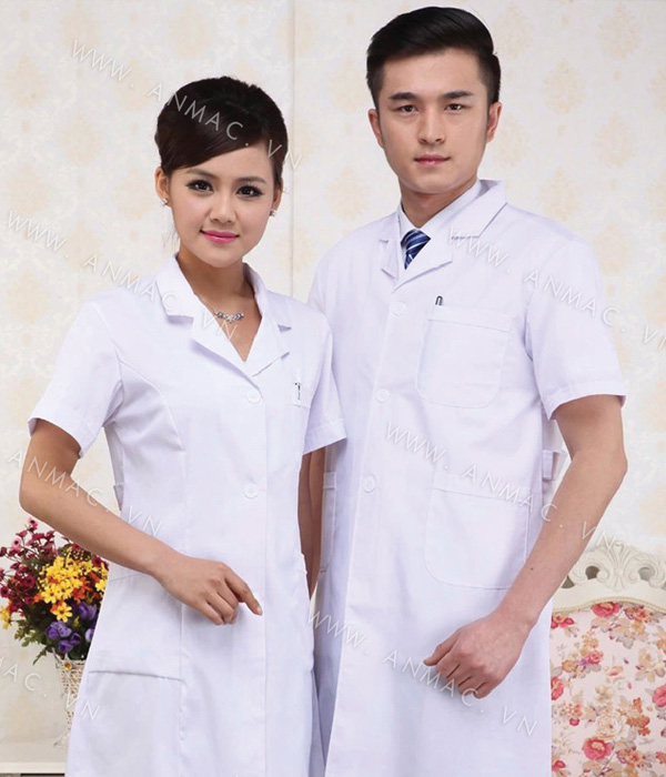Đồng phục áo bác sĩ blouse 1BS11