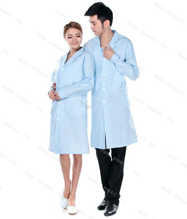 Đồng phục áo bác sĩ blouse 1BS12