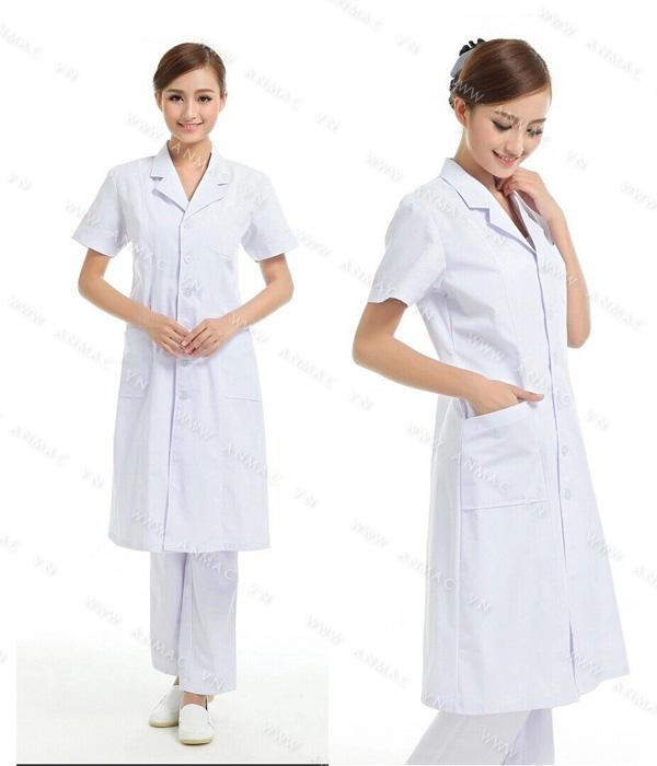 Đồng phục áo bác sĩ blouse 1BS13