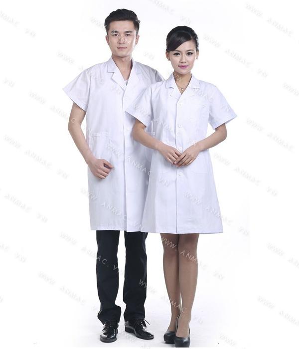 Đồng phục áo bác sĩ blouse 1BS14