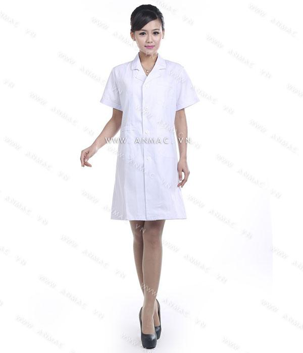 Đồng phục áo bác sĩ blouse 1BS02