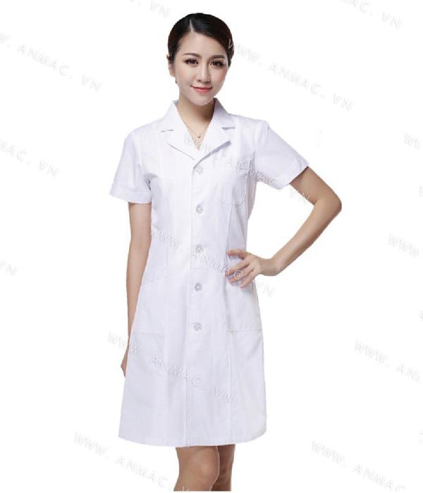 Đồng phục áo bác sĩ blouse 1BS03