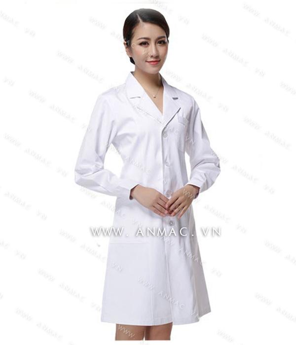 Đồng phục áo bác sĩ blouse 03