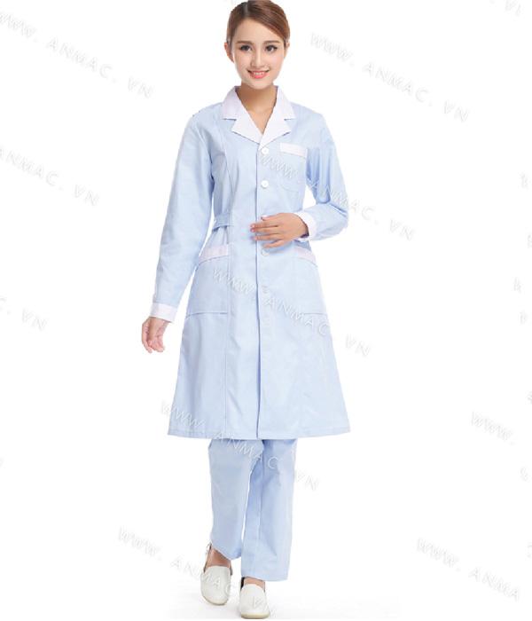 Đồng phục áo bác sĩ blouse 1BS04