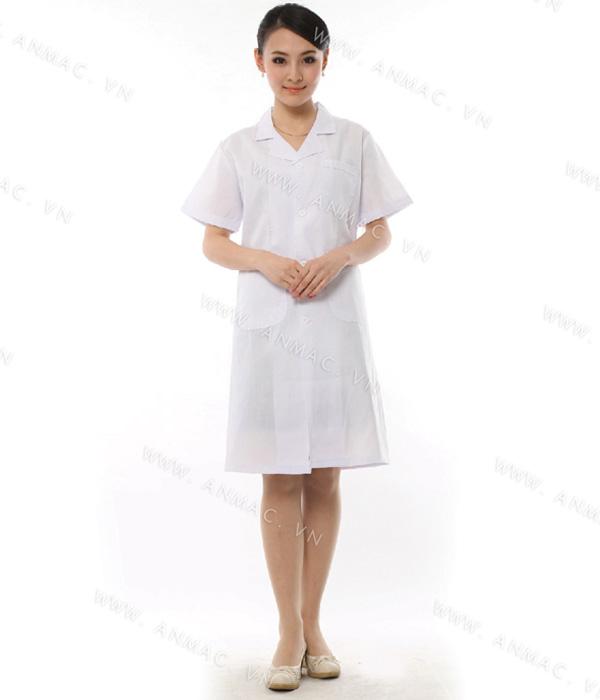 Đồng phục áo bác sĩ blouse 1BS05