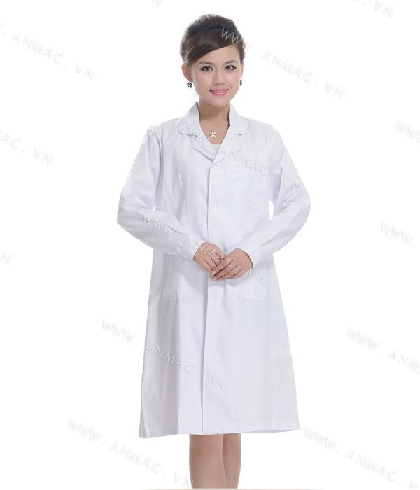 Đồng phục áo bác sĩ blouse 1BS06