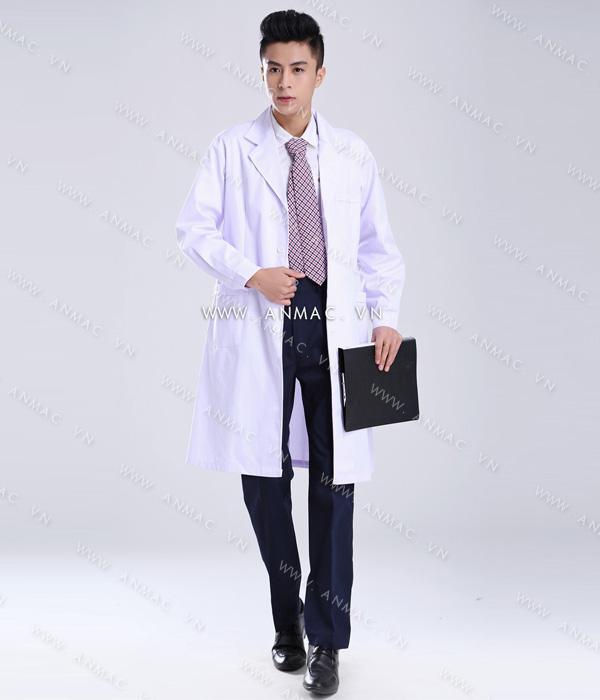 Đồng phục áo bác sĩ blouse 1BS07