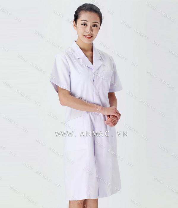 Đồng phục áo bác sĩ blouse 1BS08
