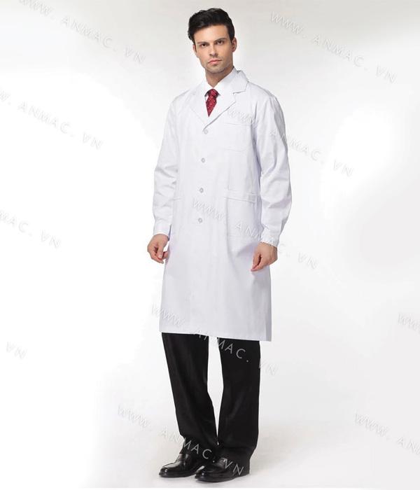 Đồng phục áo bác sĩ blouse 1BS09