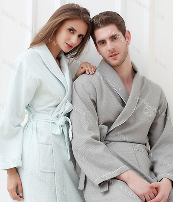 Đồng phục áo choàng spa 02