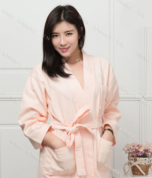 Đồng phục áo choàng spa 04
