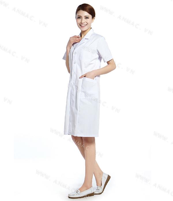 Đồng phục áo bác sĩ blouse 1BS20