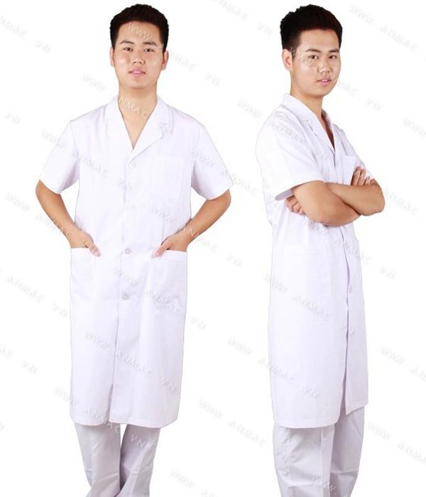 Đồng phục áo bác sĩ blouse 1BS22
