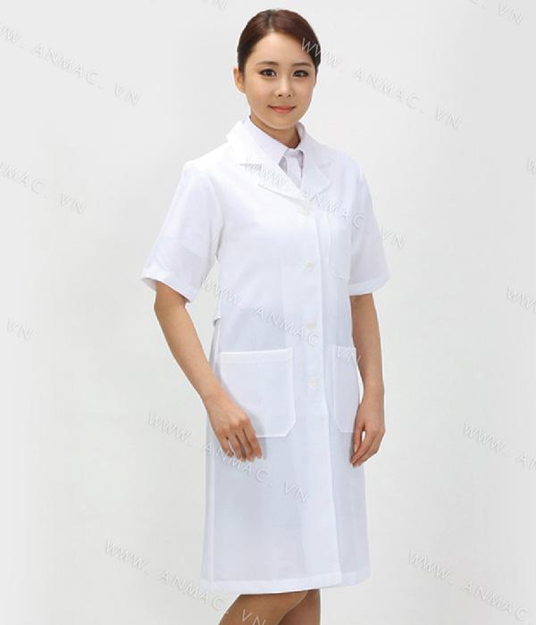 Đồng phục áo bác sĩ blouse 1BS24