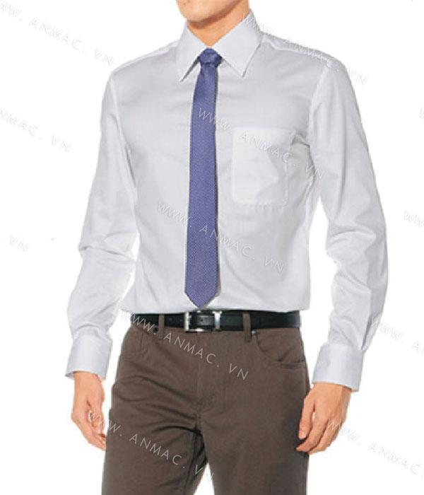 Đồng phục áo sơ mi nam công sở 1SMA01