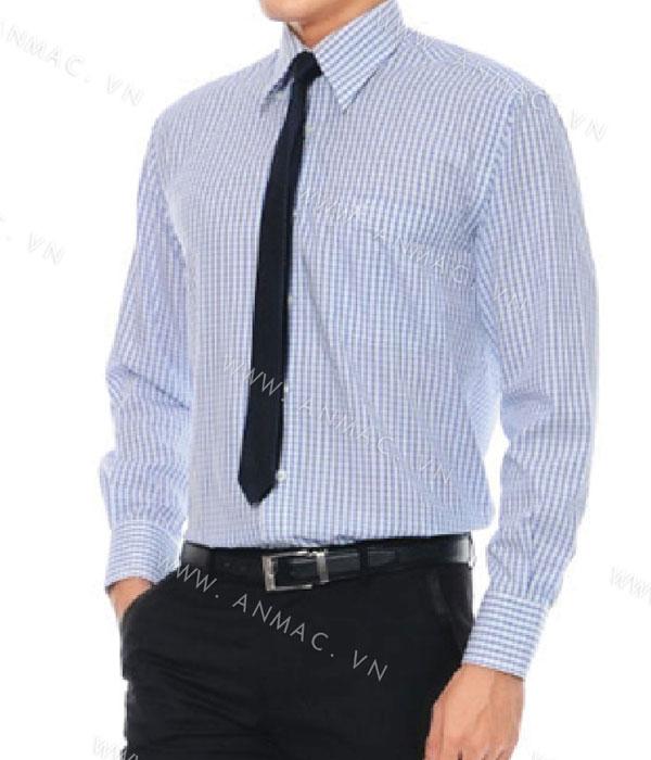 Đồng phục áo sơ mi nam công sở 1SMA02
