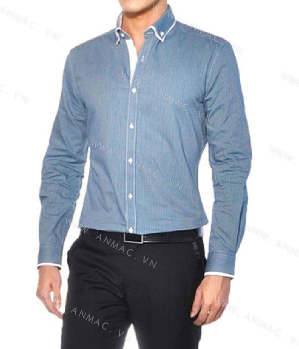 Đồng phục áo sơ mi nam công sở 1SMA03