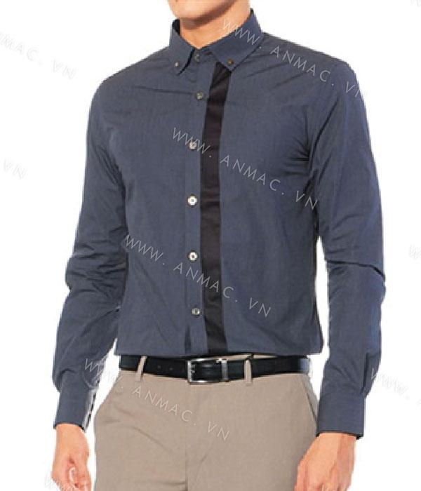 Đồng phục áo sơ mi nam công sở 1SMA06
