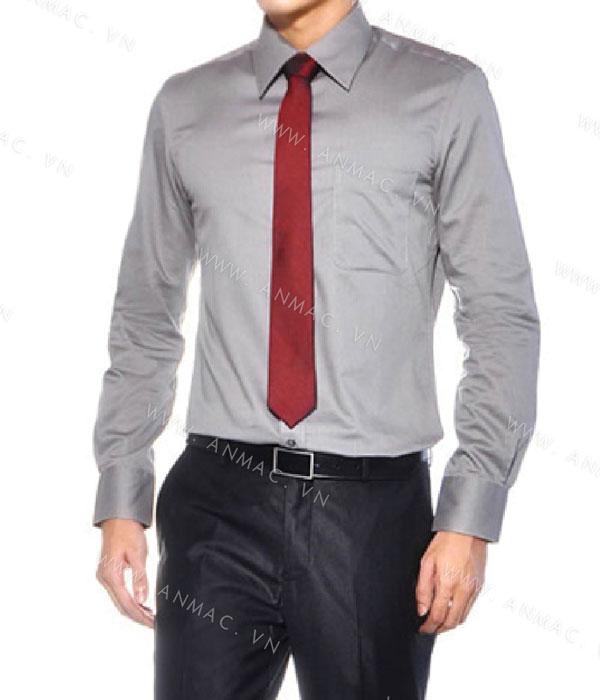 Đồng phục áo sơ mi nam công sở 1SMA04