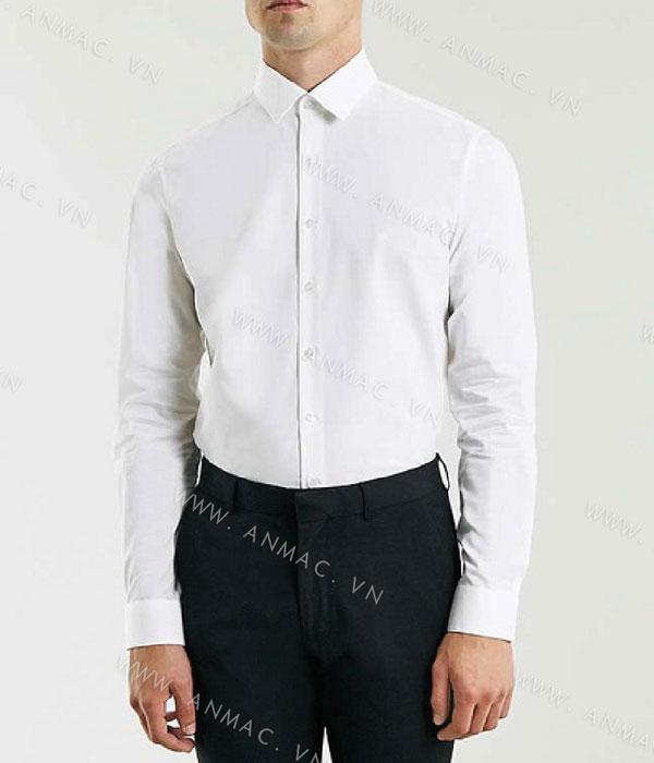 Đồng phục áo sơ mi nam công sở 1SMA12