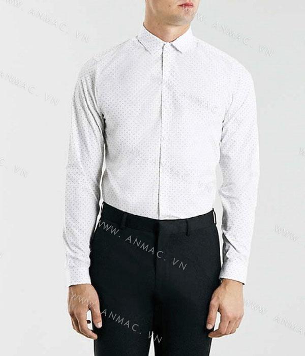 Đồng phục áo sơ mi nam công sở 1SMA13