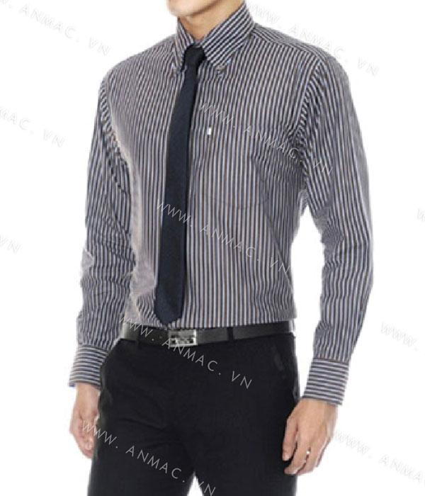Đồng phục áo sơ mi nam công sở 1SMA08